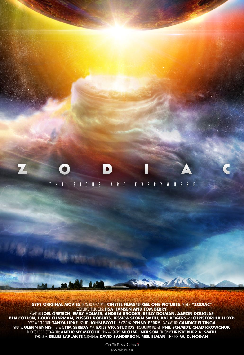 zodiac signs of the apocalypse movie poster and artwork